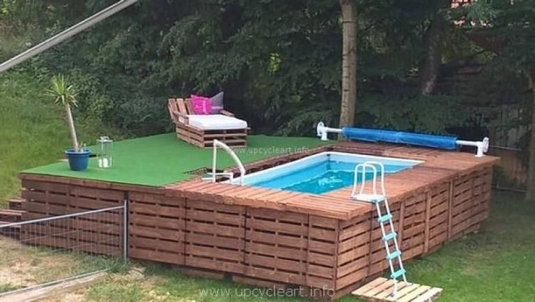 Cool Diy Pallet Swimming Pool Ideas Diy Swimming Pool Pallet Pool Swimming Pools