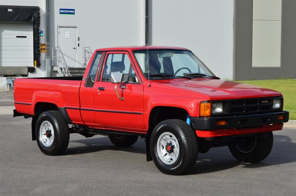 Gently Used 1985 Toyota Xtracab 4x4 Pickup Toyota Pickup 4x4 Toyota Trucks Toyota
