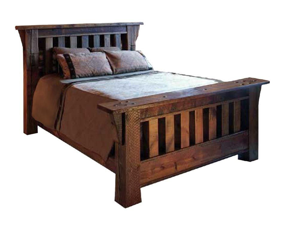 Amazing Classic Semi Mission Style Bed Listed In Rustic Furniture