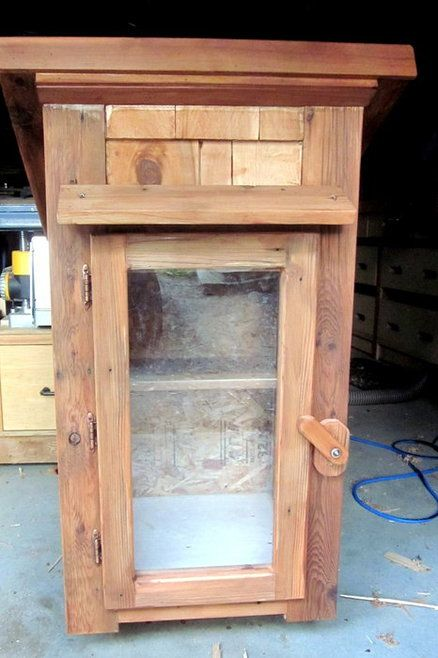 Little Free Library - out of upcycled cedar decking