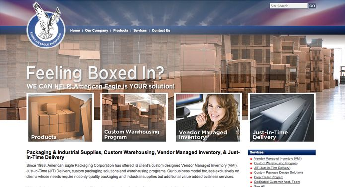 American Eagle Packaging Digital Marketing Agency