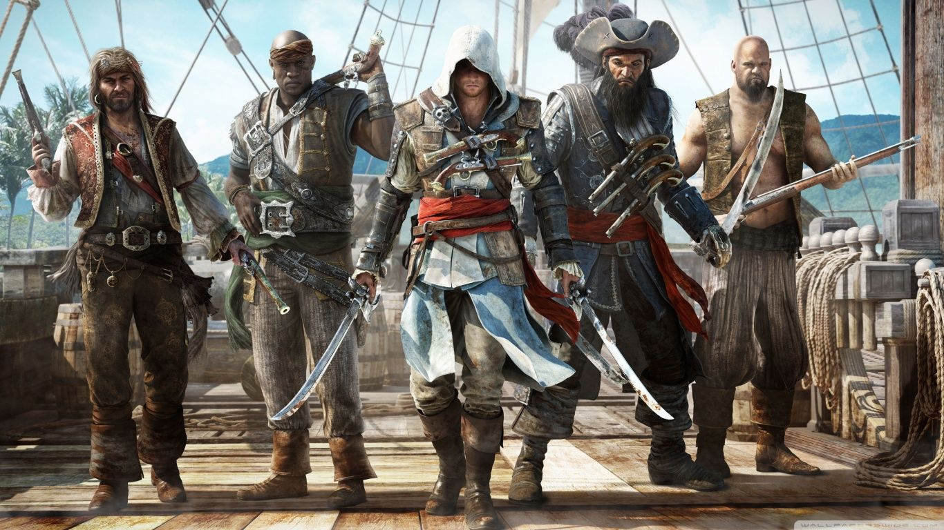 The reason of my love for Pirates | Assassin's creed, Jogos, Assassins creed