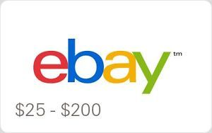 Ebay Gift Card 10 To 200 Email Delivery Ebay Gift Gift Card Generator Ebay Fashion
