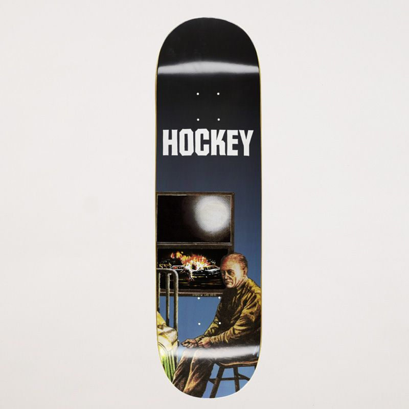 Hockey Skateboards Andrew Allen Stay Inside Hockey Skateboards Deck