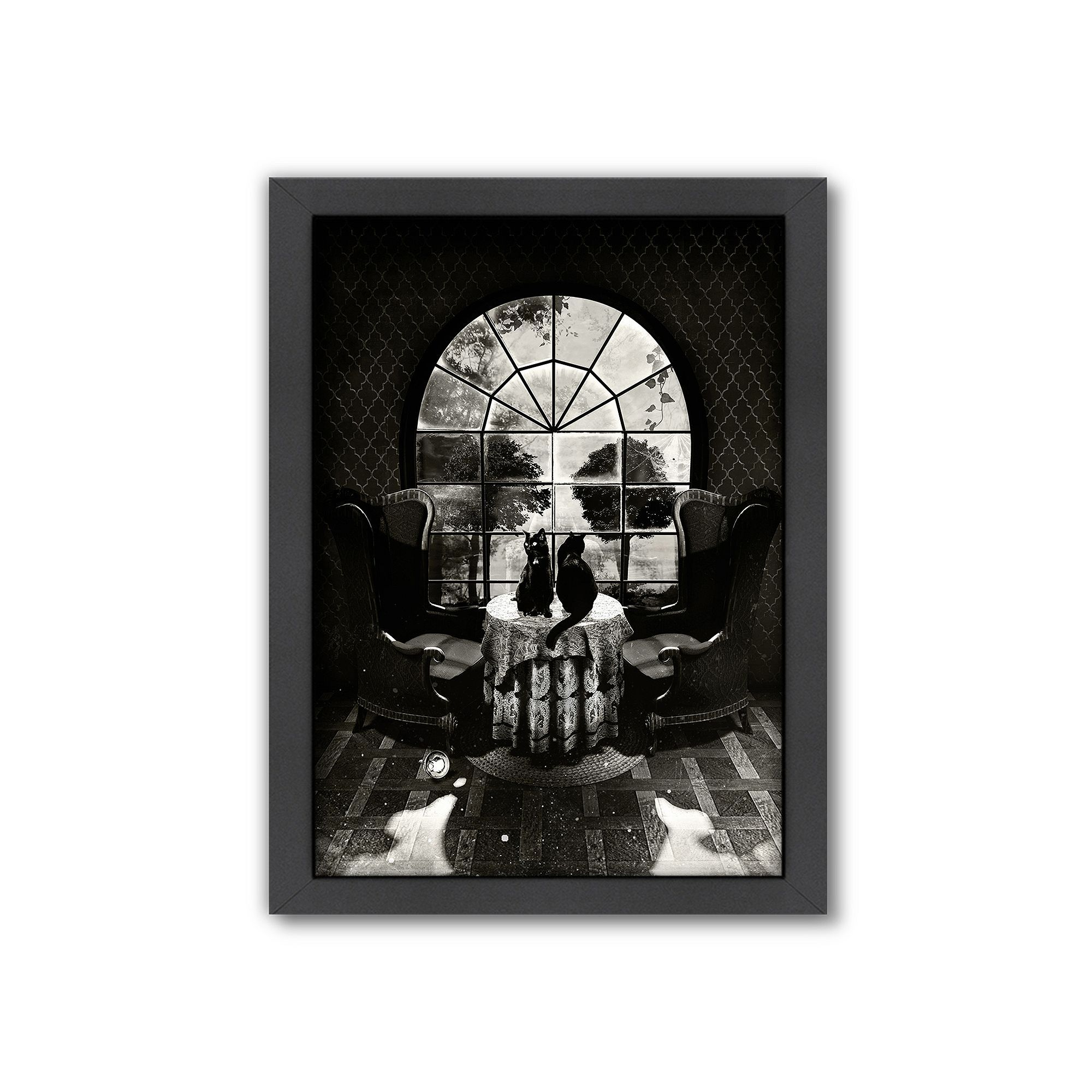 Americanflat uuroom skulluu framed wall art framed wall art and