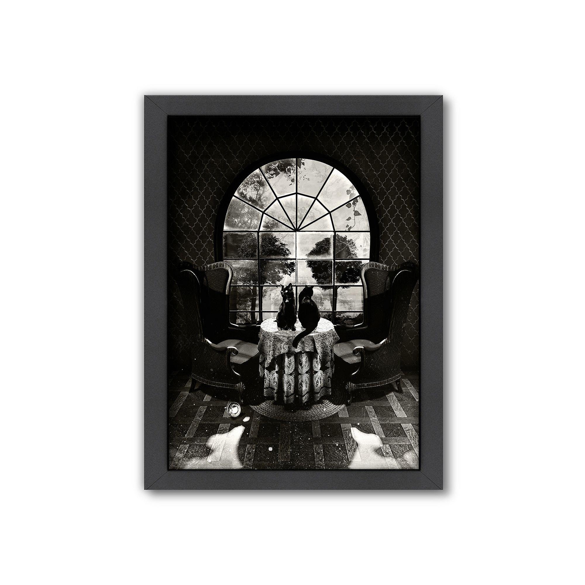 Americanflat uuroom skulluu framed wall art framed wall art and