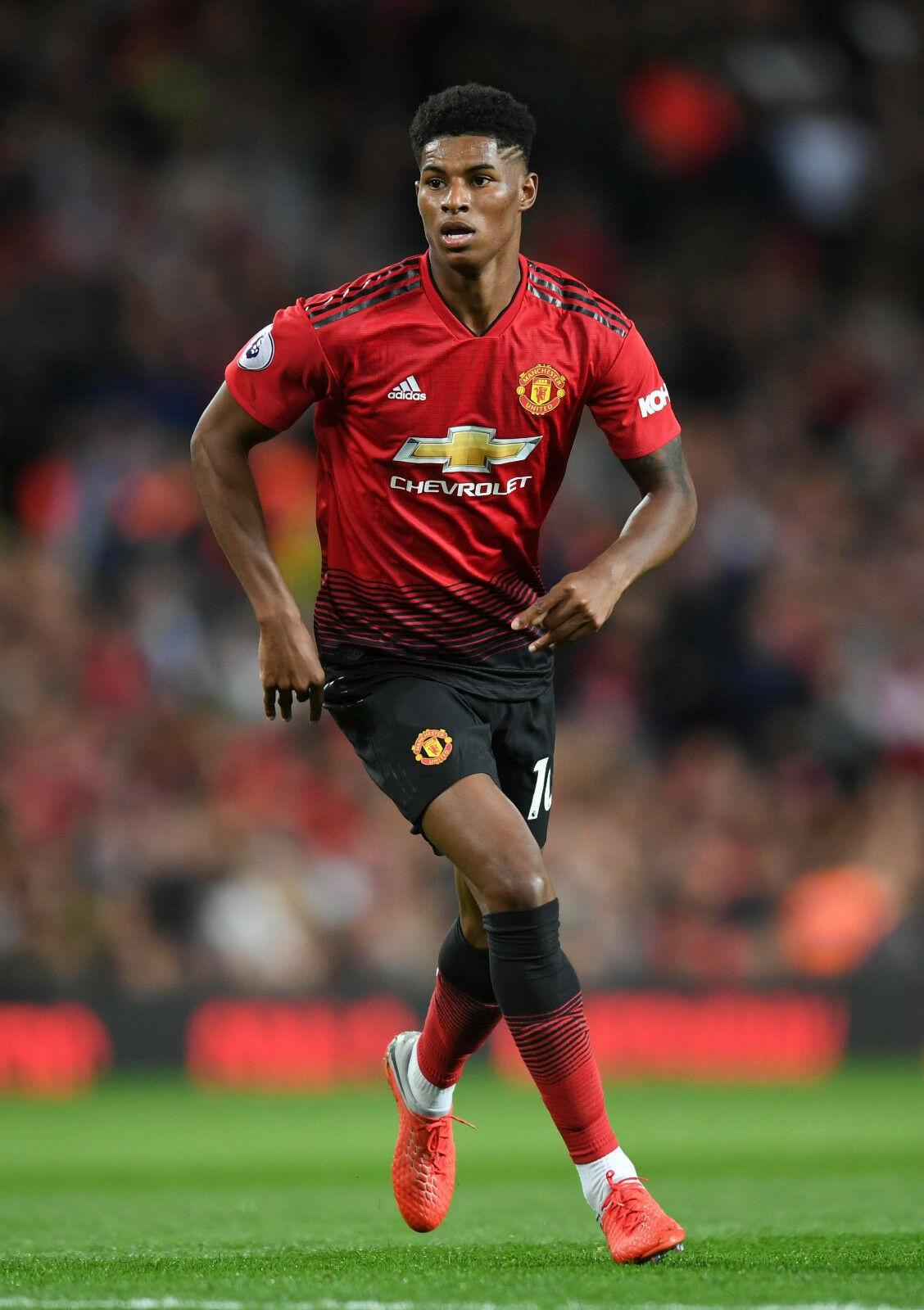Marcus Rashford of Man Utd in 2018. | Manchester united