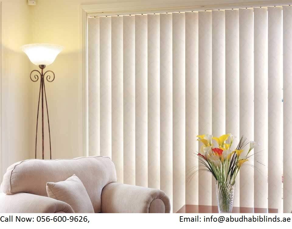Abu Dhabi Blinds Gives Extensive Varieties Of Blinds Abu Dhabi Blinds With Actual First Rate In 2020 Vertical Blinds Curtains Living Room Blinds Curtains With Blinds