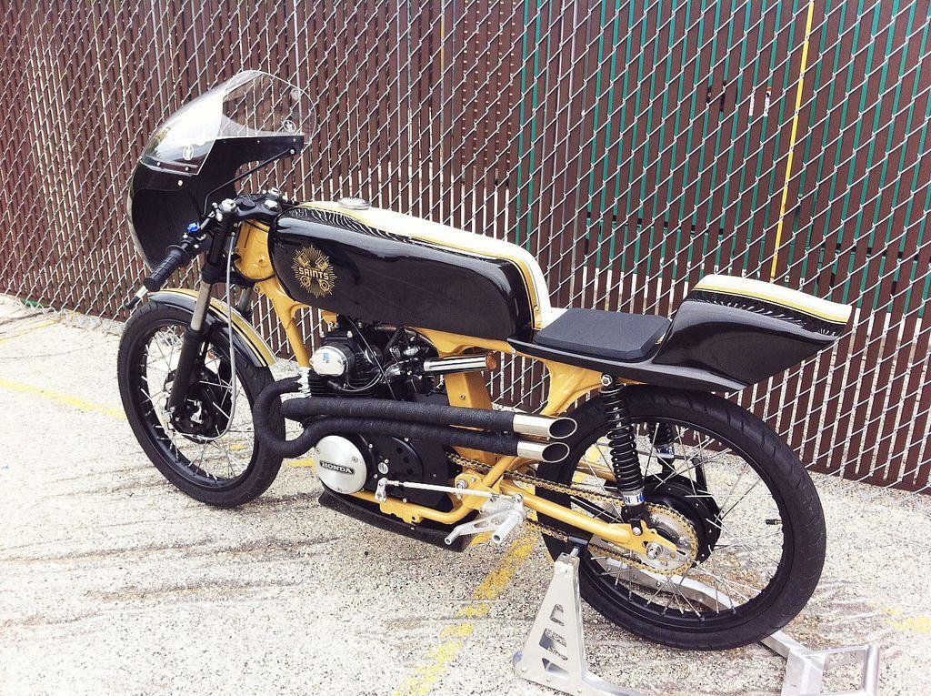 Honda CB175 Twin Cylinder Saints Return Of The Cafe Racers