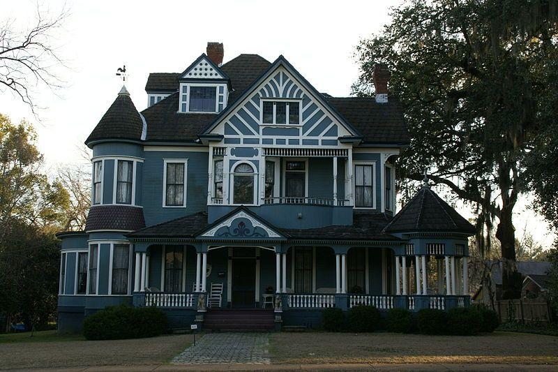 EhrlichImmendorf House in Bainbridge, GA Victorian