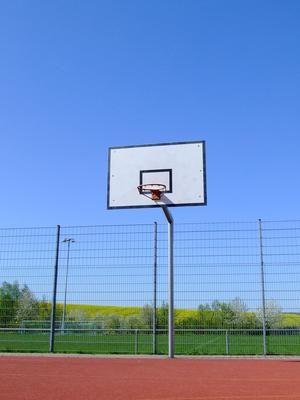 Factors Affecting Indoor Basketball Court Safety Court Size Livestrong Com Outdoor Basketball Court Indoor Basketball Court Plyometric Workout
