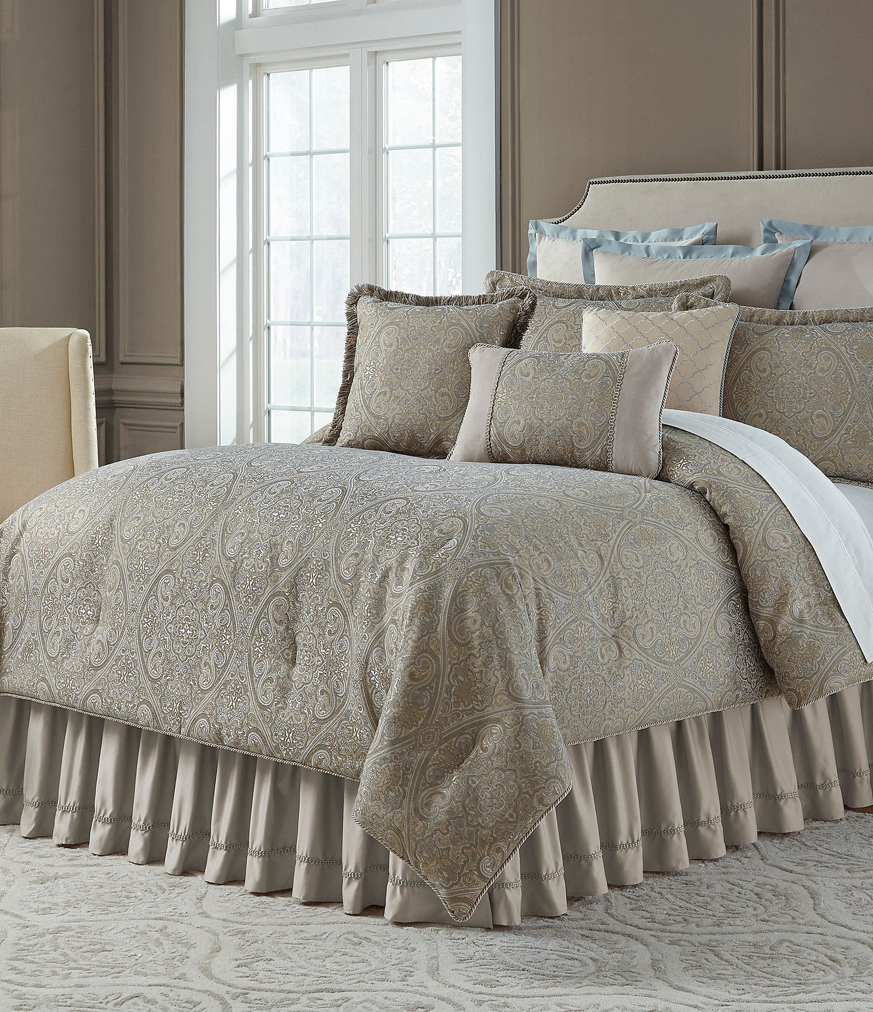 Veratex Fresco Chenille Comforter Set Dillards Bedding Samples In