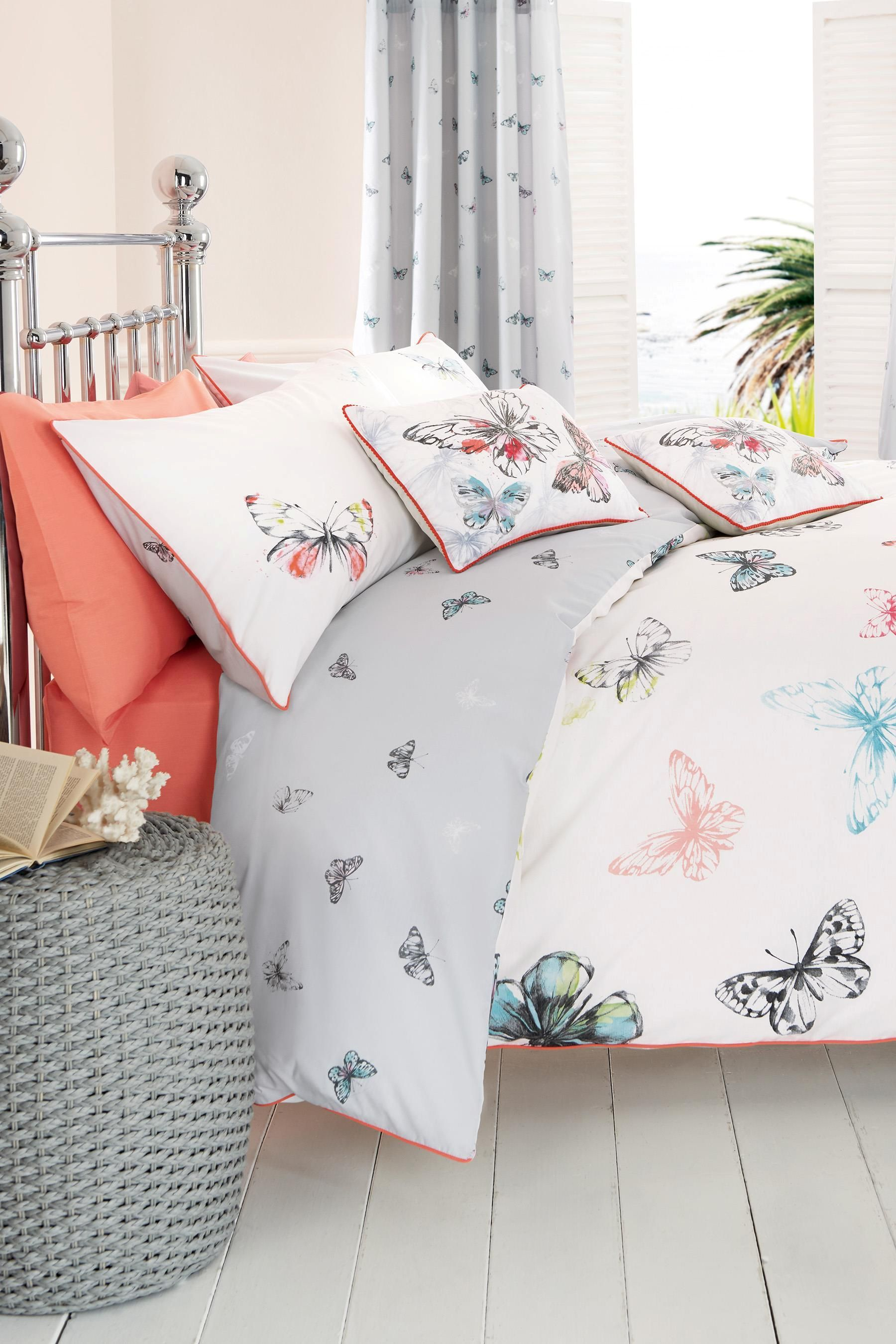 kids mainstays boho butterfly set a princess in bag ip bed bedding walmart com comforter