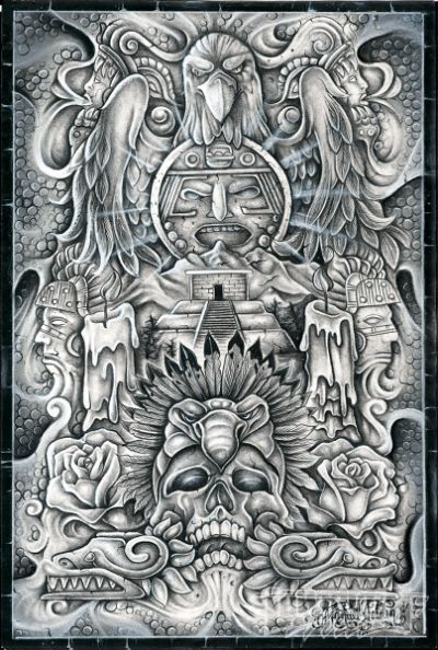 Lowrider Arte Cover Magazine Pic: | carving | Pinterest ...