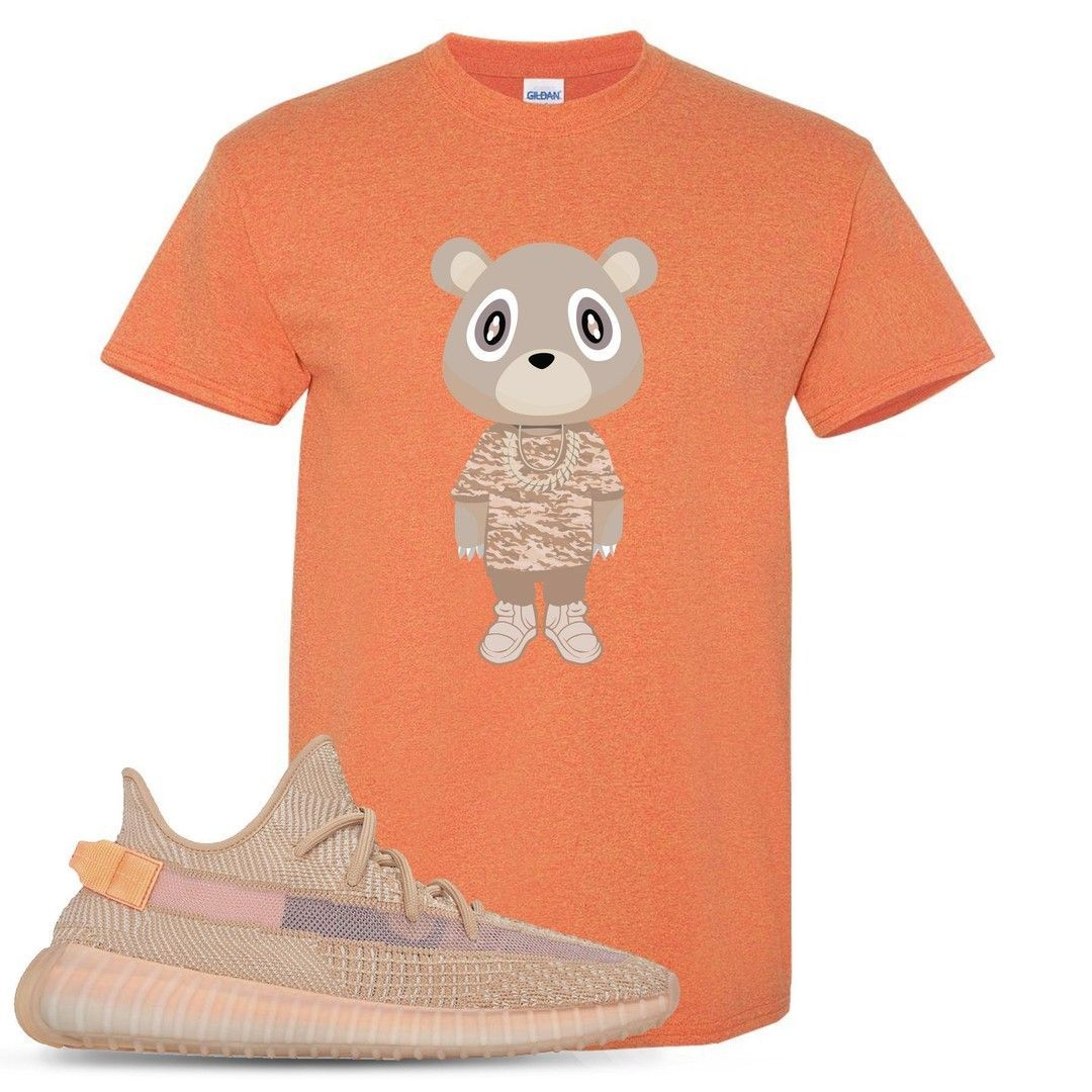 b799987026dc4 Yeezy Boost 350 Clay V2 Sneaker Match Yeezy Bear Heathered Sunset T ...