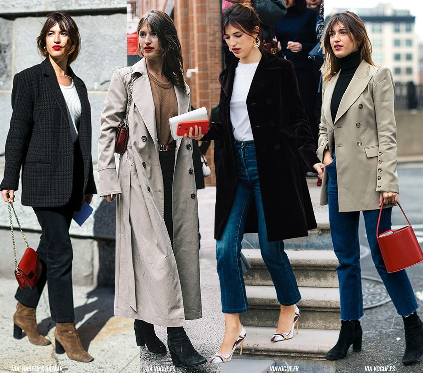 It's not the first time I feature Jeanne Damas here but it's always interesting how her effortless outfits look so interesting (while being rather simple). But that's the French secret coolness X-factor I guess. Photos via: harpersbazaar, vogue.es, vogue.fr Salva SHARE: