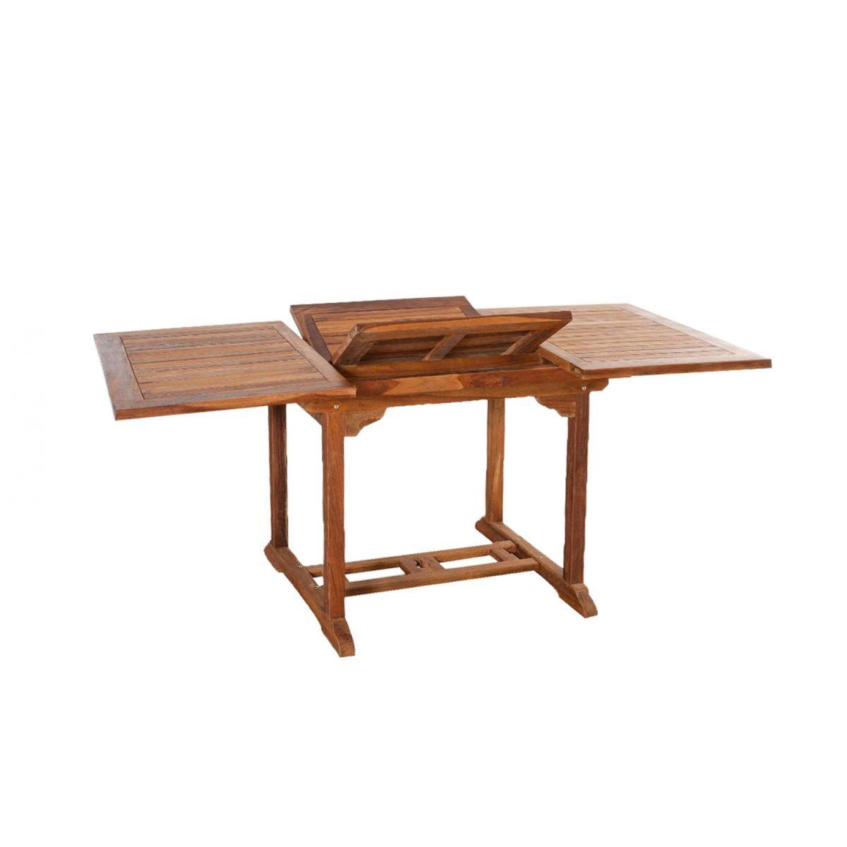 Lubok : Salon de jardin Teck huilé 6 personnes - Table ...