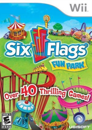 Six Flags Fun Park Nintendo Wii Game With Images Wii Games