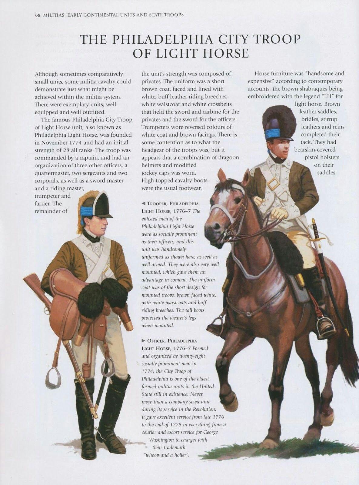 Continental Army: Philadelphia Light Horse_1