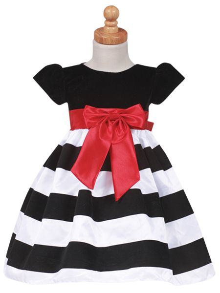 Black & White Lito Dress: BestDressedTot.com - Special Occasion ...
