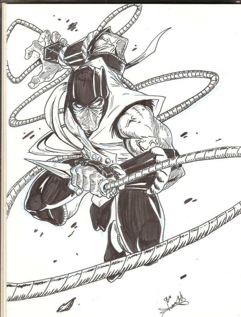 Www Comic Art Step By Step Mortal Kombat Eachmortal Kombat