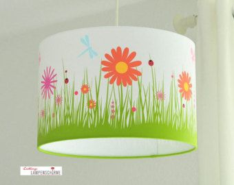 Lampenschirm, Blumenwiese
