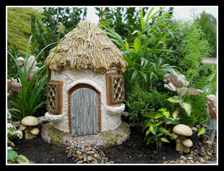 Miniature Gnome House Kit Miniature Fairy Gardens Fairy Garden Mini Fairy Garden