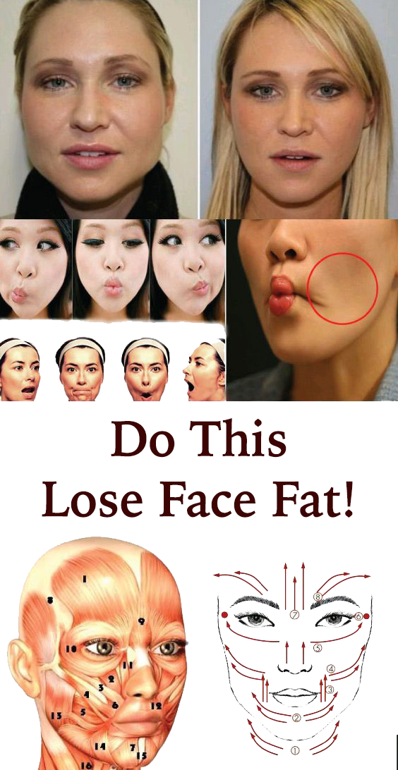 Lose face fat fast in a week