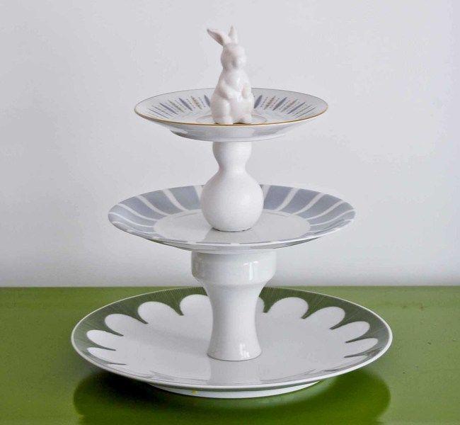 Wohin Mit Altem Geschirr etagere aus altem porzellan habenhaben über dawanda com be