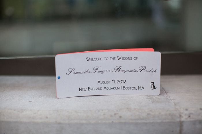 City Themed Aquarium Wedding in Boston | Images by Summer Street Photography | Via Moderny Wed | 35