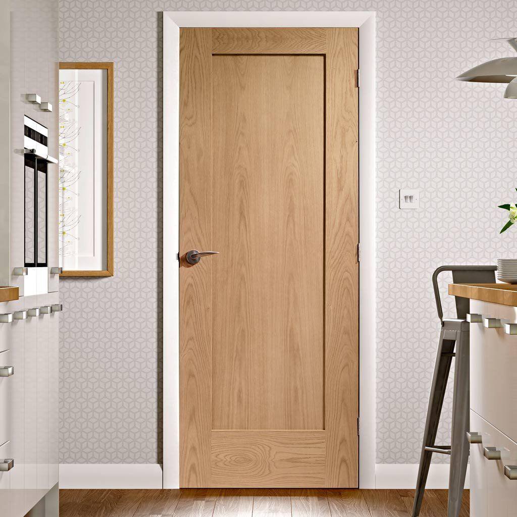 Pattern 10 Oak 1 Panel Door Door Design Interior Flush Door Design Doors Interior Modern