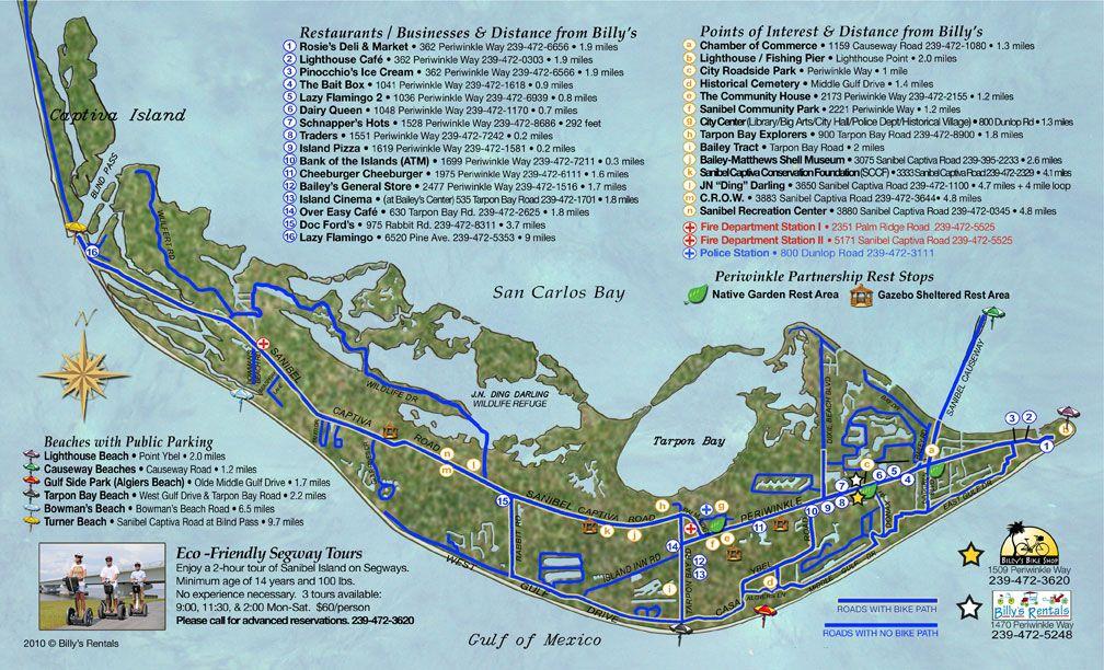 Sanibel Island Attractions Map: 5 Must-Do Activities In Sanibel, Florida