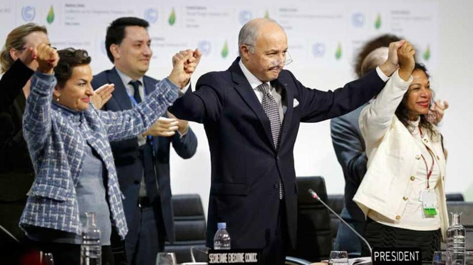 Nasce o 1° acordo histórico universal pelo clima na COP 21
