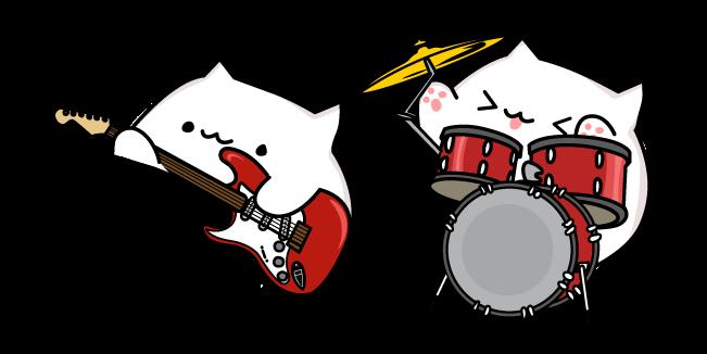 Rock Bongo Cat Bob Meme Cats Bongo
