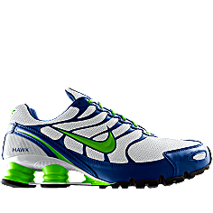 Nike shox turbo, Seattle seahawks