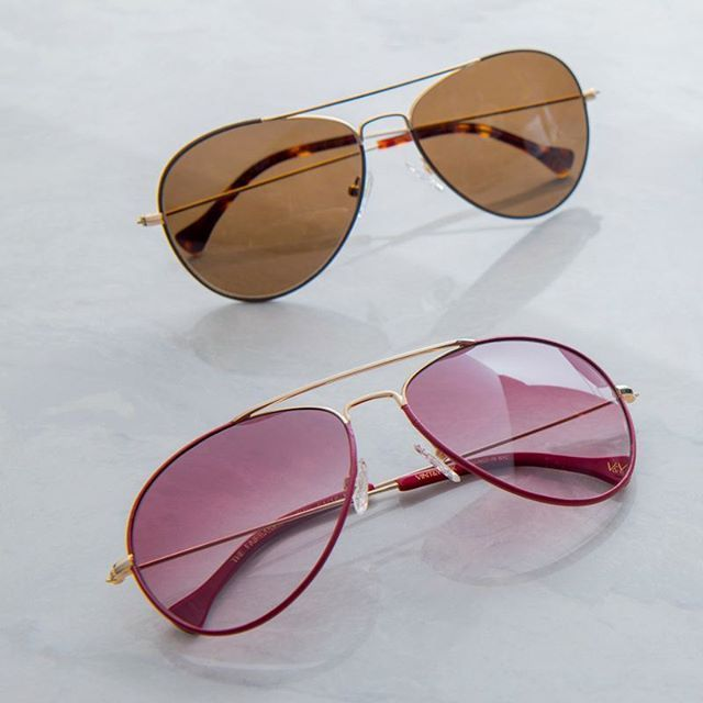 48d898011dfa6 THE FAIRBANKS Aviator Sunglasses - Vint   York