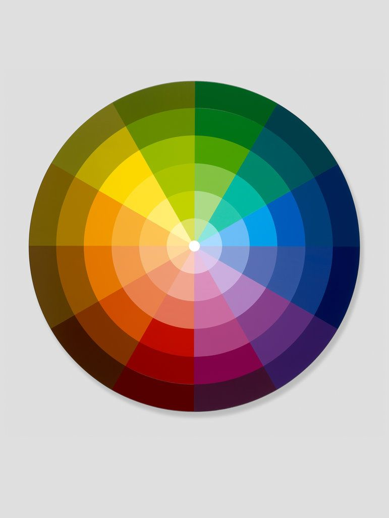 Paint Color Wheel Chart Awesome Room Colors And Moods With Cool Sectors From Primary Secondary