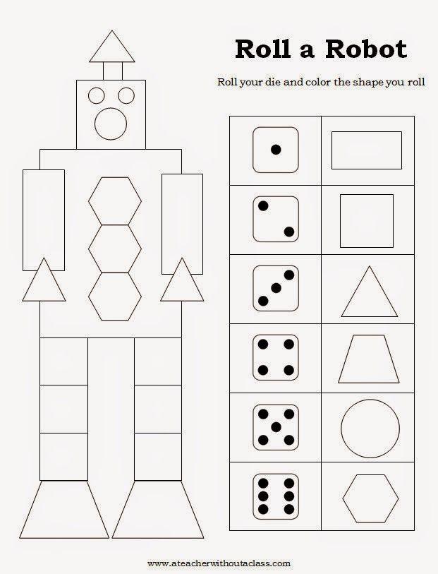 Shapes In Kindergarten Geometri Matematik Boyama Sayfalari