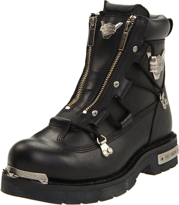 Harley Davidson Boots For Men Harley Davidson Men S Brake Light Riding Boot Harley Davidson Harley Boots Leather Motorcycle Boots Motorcycle Boots
