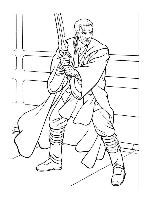 To Print Coloriage Star Wars Obi Wan Kenobi 22 Click On The