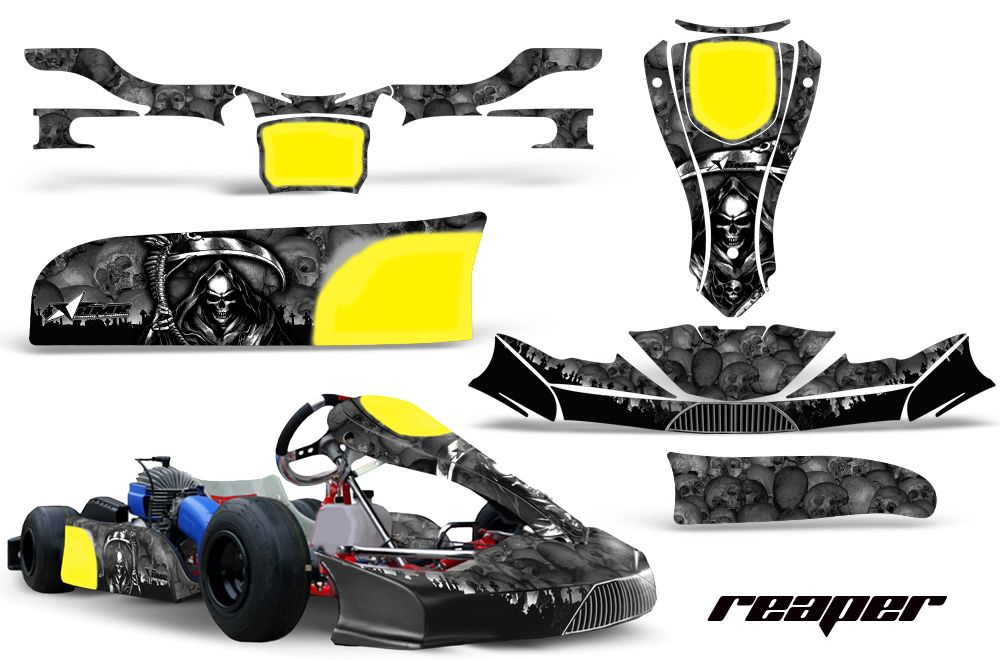 KG FP7 Kart Graphics Sticker Decal kit