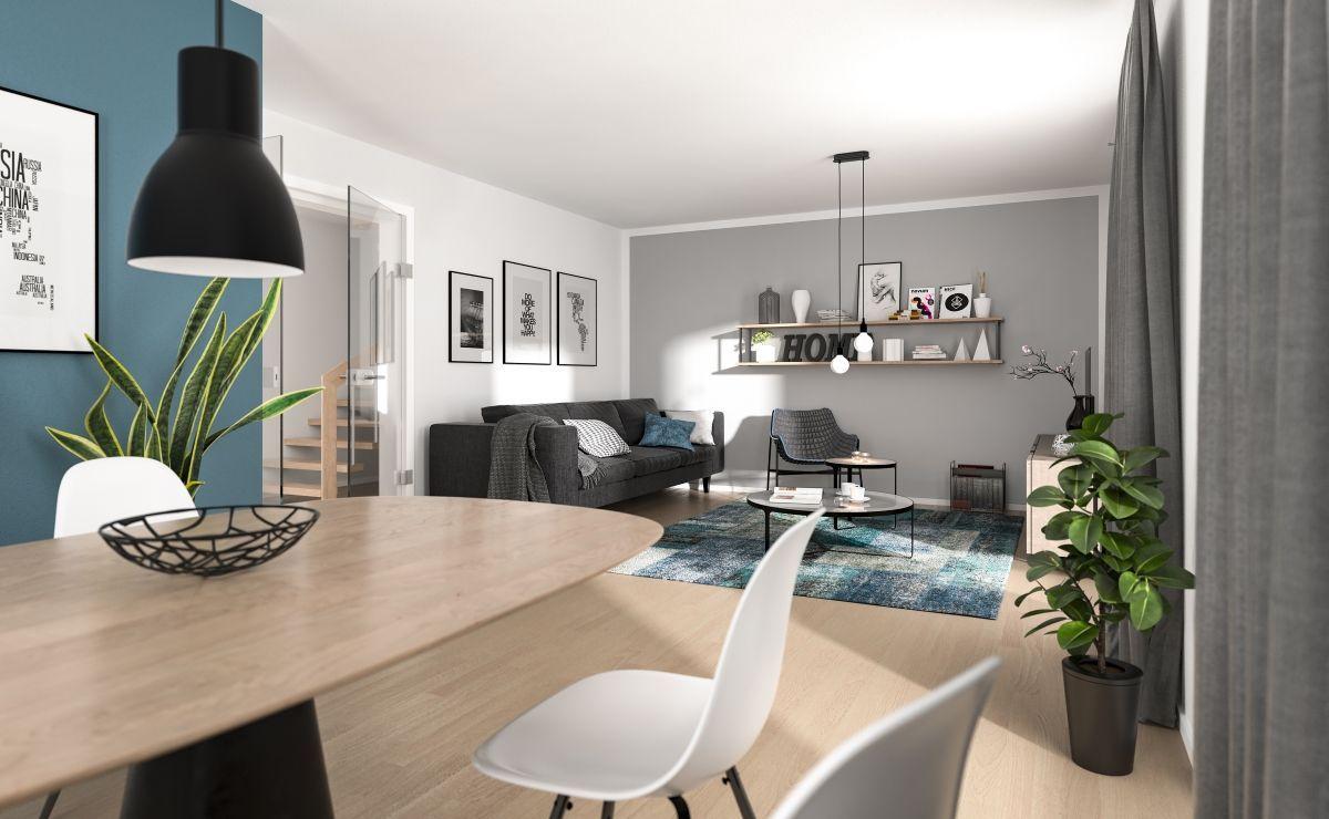 24 Wohnzimmer mit essbereich ideen