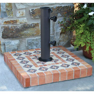 World Menagerie Nealy Concrete Free Standing Umbrella Stand In 2018