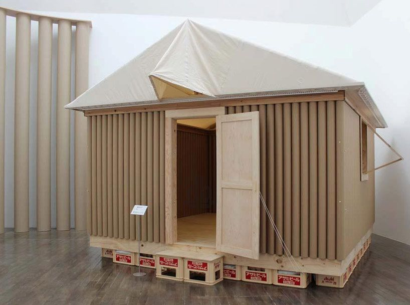 shigeru ban architecture and humanitarian activities archi1 pinterest refuges refuge et co. Black Bedroom Furniture Sets. Home Design Ideas