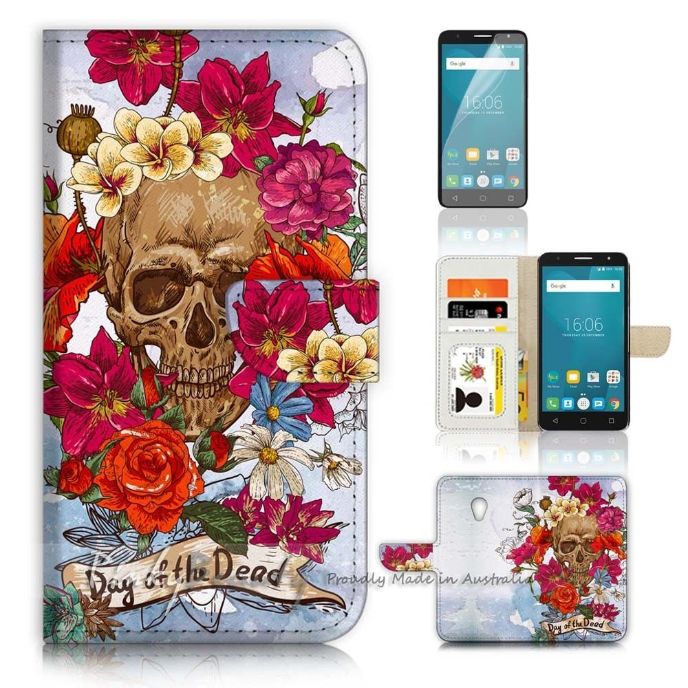 release date: 1f077 78d33 $12.99 AUD - ( For Optus X Spirit ) Wallet Case Cover P21396 Sugar ...