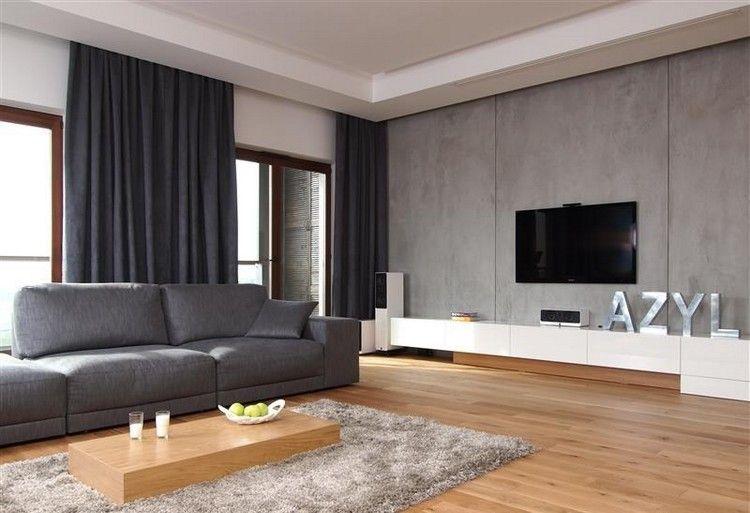deavita wp-content uploads 2015 09 modernes-wohnzimmer - modernes wohnzimmer grau