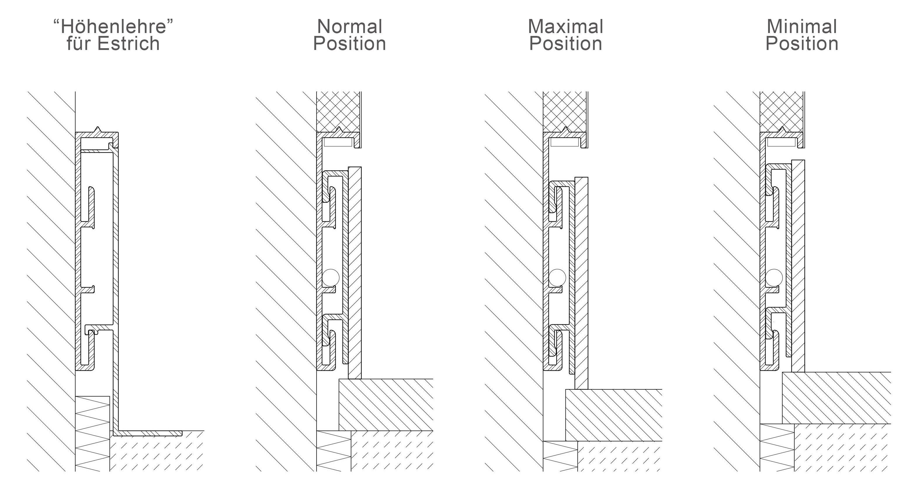 Flush Skirting Board Detail