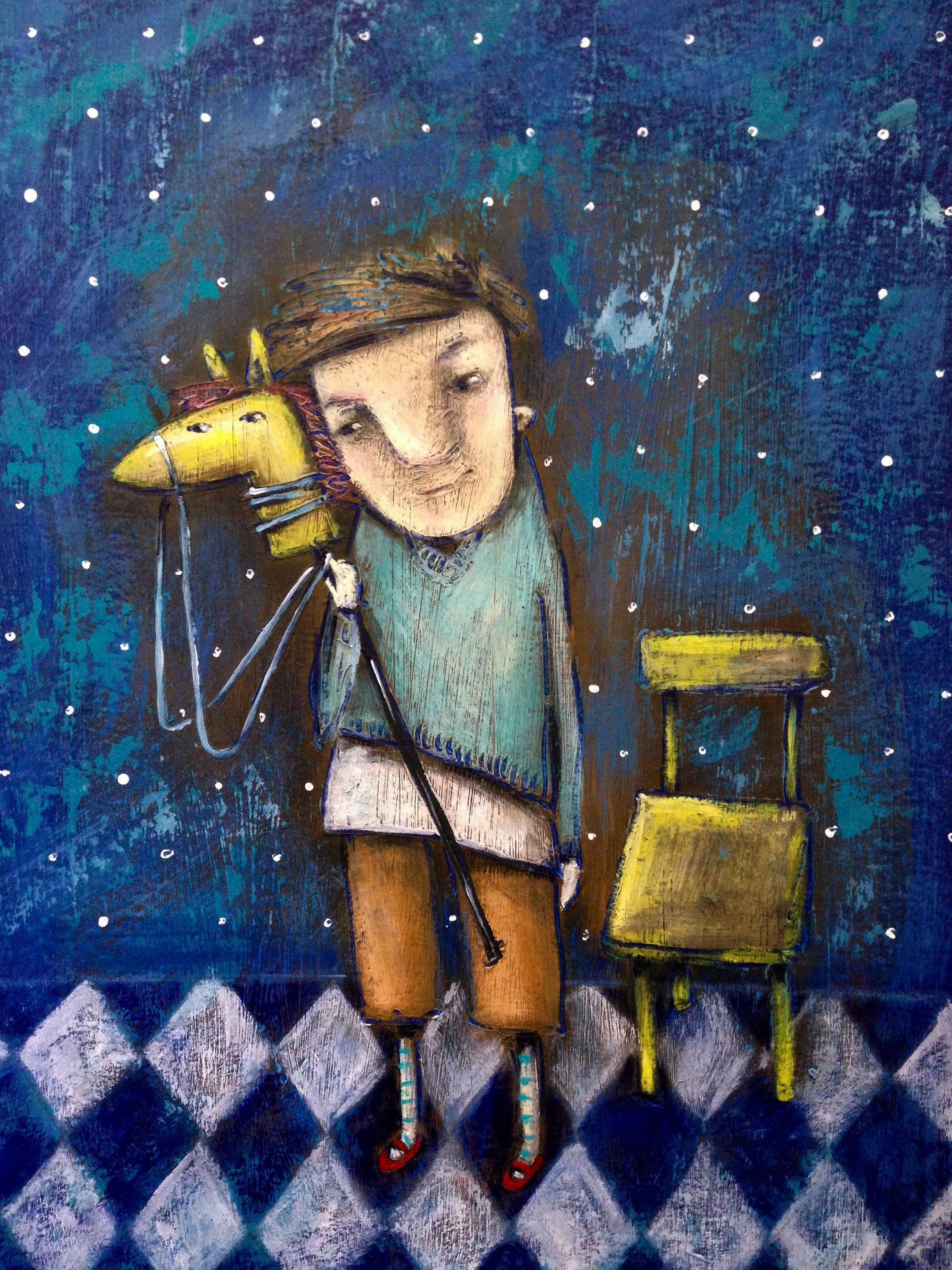 Воспоминание о детстве (With images) | Painting, Art, Art ...