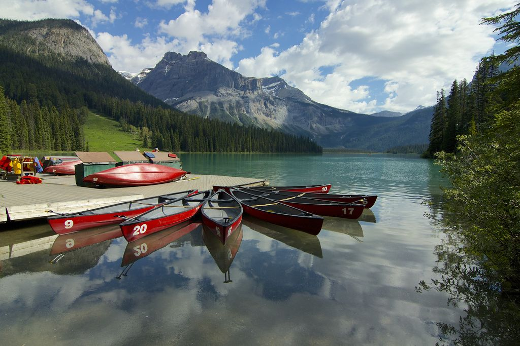 https://flic.kr/p/ovct8G   Emerald Lake Canoes   Emerald Lake in Yoho National Park, British Columbia. Have a great Thursday and as always, thanks for all your visits and comments!