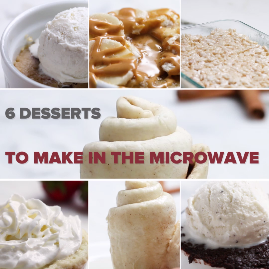 6 Microwaveable Desserts Are Genius For When Sugar Cravings Strike 6 Microwaveable Desserts6 Microwaveable Desserts